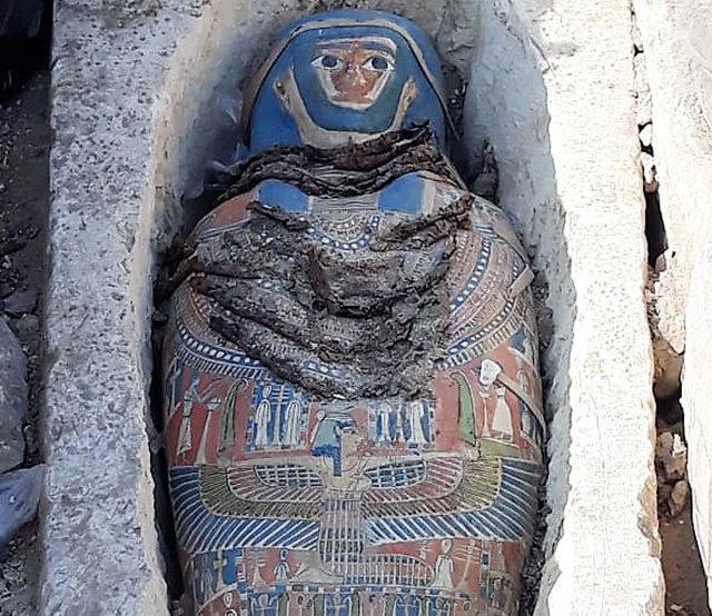 """Опубликованы фотографии """"последних мумий"""" Древнего Египта"""