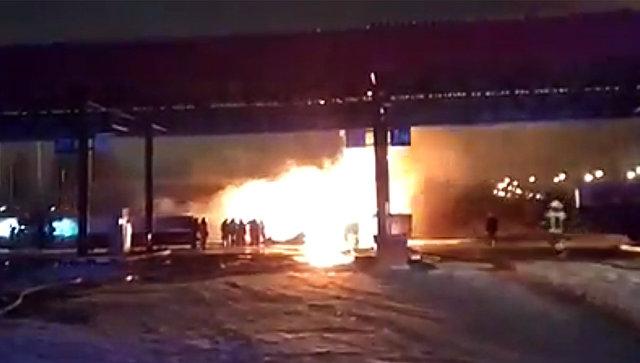 В Нижегородской области локализовали пожар на АЗС