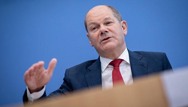 Вице-канцлер Германии Олаф Шольц. Архивное фото