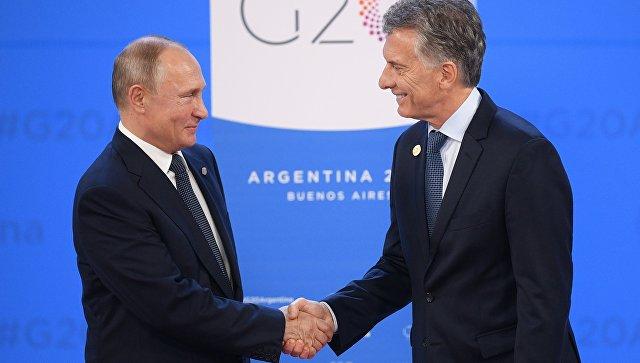 Лидер Аргентины назвал страну надежным поставщиком продуктов для россиян