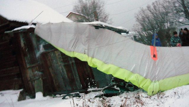 В Свердловской области начали проверку после падения мотодельтаплана