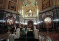 Церемония прощания с Алексием II в храме Христа Спасителя