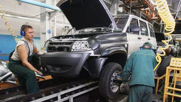 Ульяновский автомобильный завод. Архивное фото