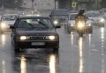 Сильный ливень с градом в Москве