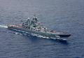 Тяжелый атомный ракетный крейсер «Петр Великий» во время совместных российско-венесуэльских учений