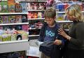 Покупка учебников в книжном магазине