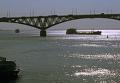Саратов. Мост через реку Волга
