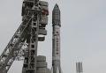 """Вывоз ракеты """"Протон-М"""" на стартовый комплекс"""