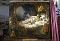 """Картина Рембрандта """"Даная"""" на реставрации"""