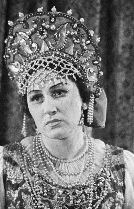 Ирина Архипова в опере «Царская невеста»