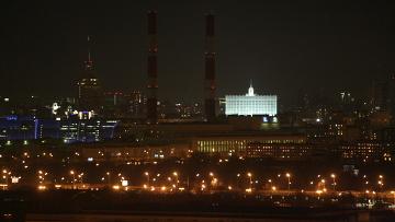 Экологическая акция Час Земли в Москве. Архивное фото