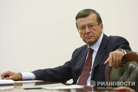 В.Зубков на заседании президиума правительства РФ