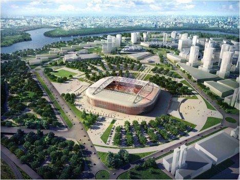 Стадион Спартак Москва