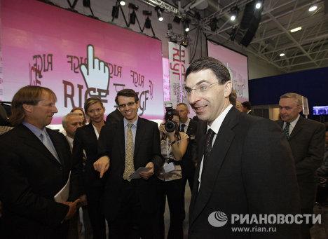 Игорь Щеголев на первом российском форуме по управлению Интернетом