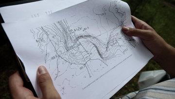 Географическая карта. Архивное фото