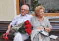 Александр Митта с супругой Лилией