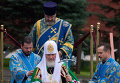 Открытие надвратной иконы Спасской башни Кремля