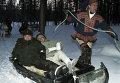 Виктор Черномырдин в Лапландии