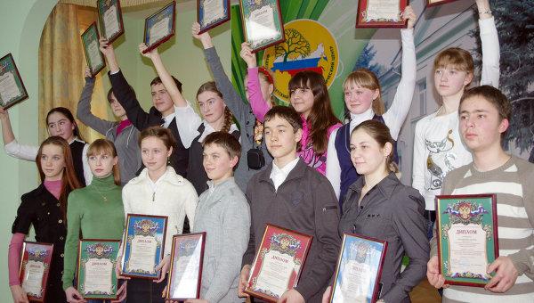 Победители школьной олимпиады. Архив