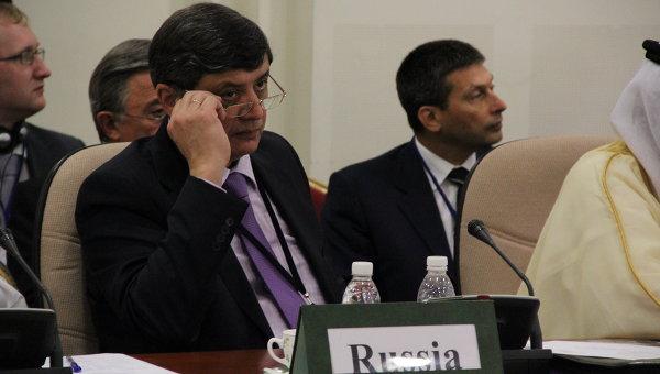 Директор 2-го департамента МИД РФ Замир Кабулов. Архивное фото