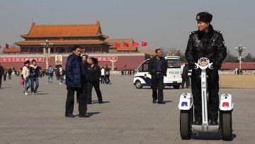 КНР, Пекин, площадь Тяньаньмэнь. Архивное фото