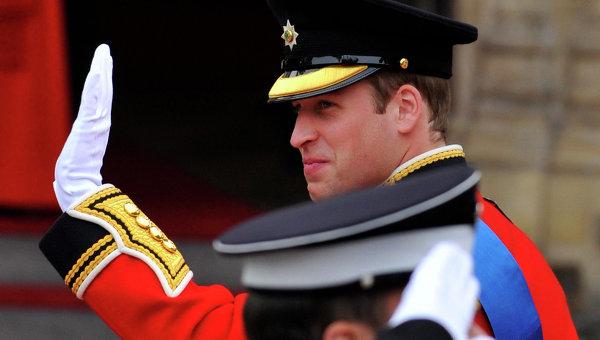 Принц Уильям прибыл в Вестминстерское аббатство