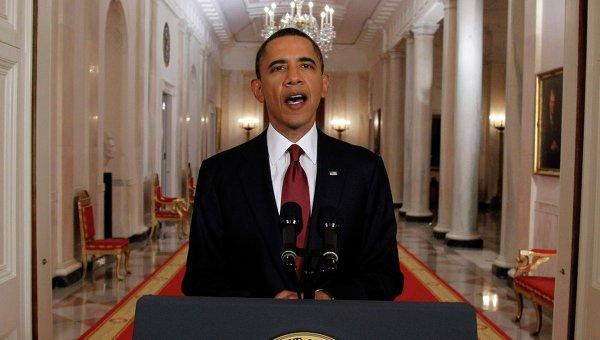 Обращение Барака Обамы к граждан США после сообщений об уничтожении Усамы бен Ладена