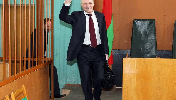 Суд над экс-кандидатами в президенты Белоруссии
