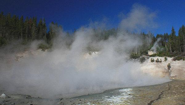 Йеллоустонский вулкан, архивное фото