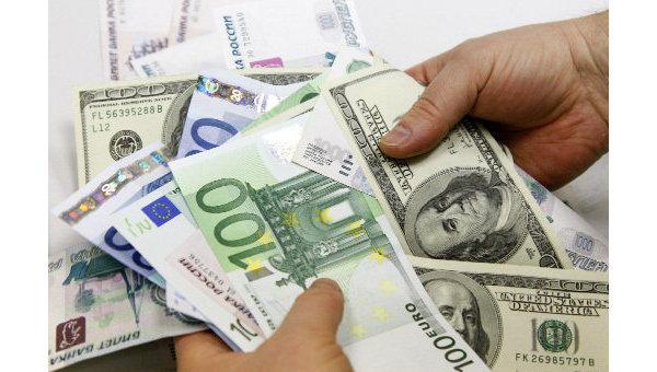 Доллары, евро, рубли