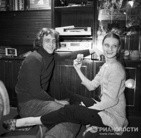 Артисты балета Терехова и Бережной