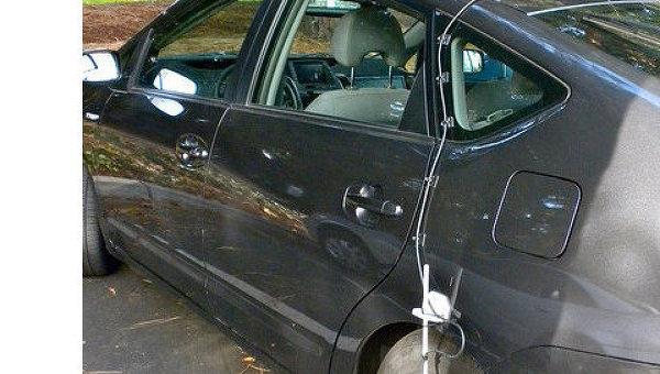 Роботизированный автомобиль Google Toyota Prius. Архив