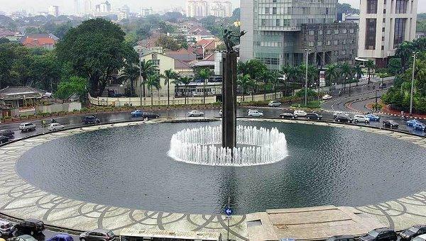 Столица Индонезии - Джакарта. Архив