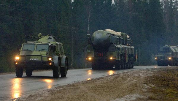 Ракетный комплекс Тополь-М. Архивное фото