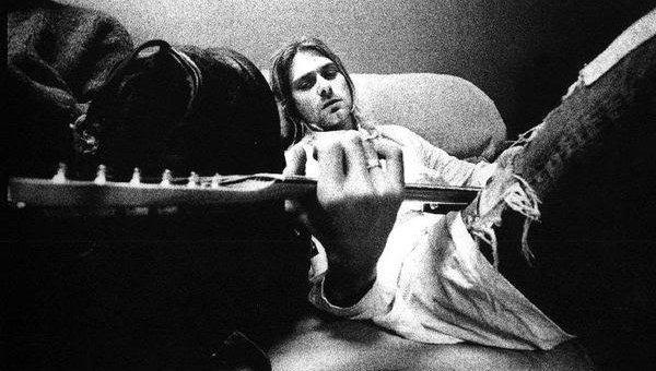 Курт Кобейн, архивное фото