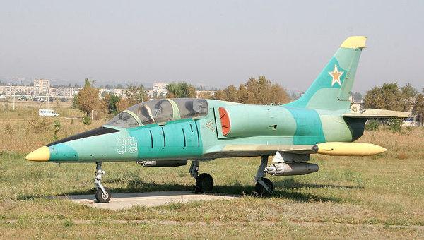 Учебно-боевой самолет ВВС Литвы L-39 Альбатрос. Архив