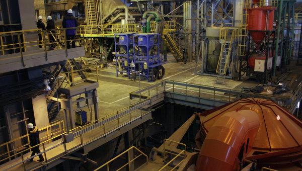 На Северском трубном заводе (СТЗ), входящем в Трубную Металлургическую компанию (ТМК). Архивное фото