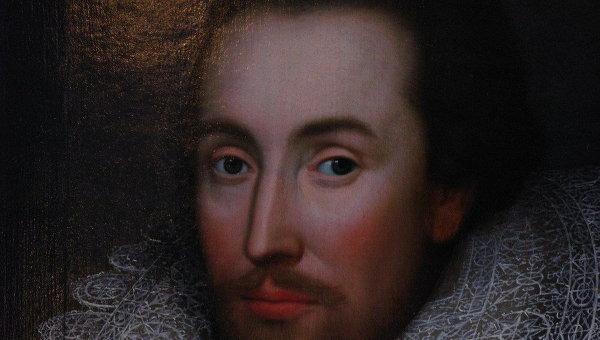 Единственный известный на сегодняшний день прижизненный портрет Шекспира. Архивное фото