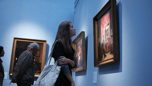 Открытие выставки Датские мастера. 1800–1850 в Москве