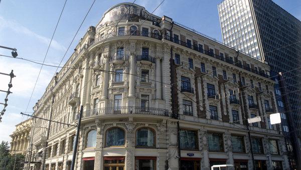 Гостиница Националь в Москве. Архив