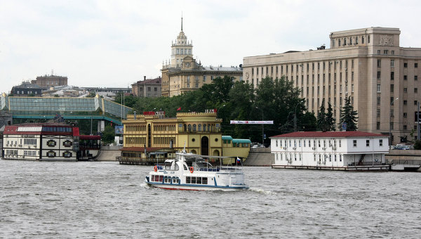 Фрунзенская набережная. Архив