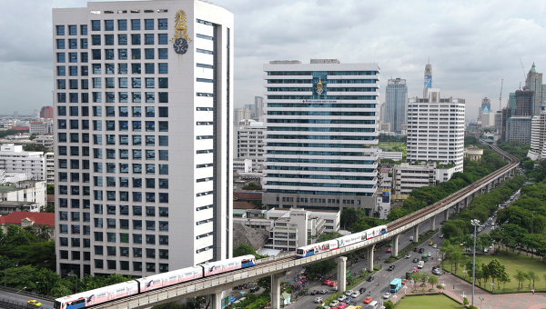 Виды столицы Таиланда - Бангкока. Архивное фото