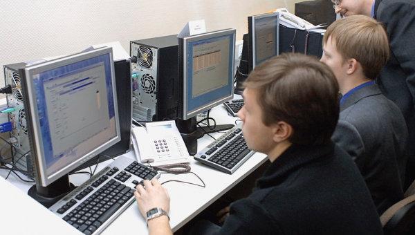 В зале управления ГАС Выборы в Центризбиркоме, архивное фото