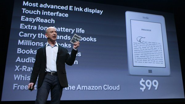 Компания Amazon представила свой первый планшетный компьютер Kindle Fire