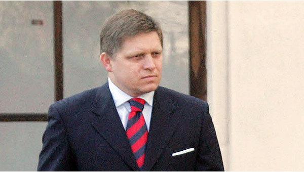 Премьер-министр Словакии Роберт Фицо. Архив