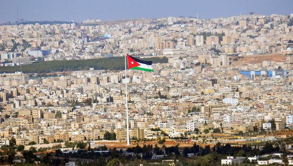 Вид на столицу Иордании. Архивное фото