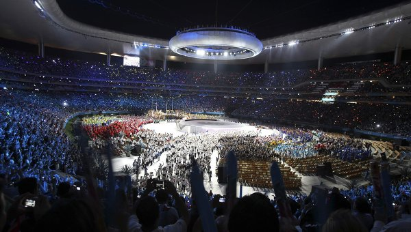 Церемония открытия Панамериканских игр