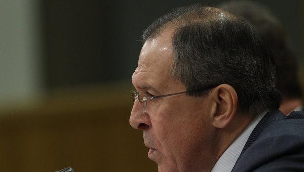 Глава Министерства иностранных дел РФ Сергей Лавров. Архив
