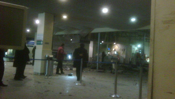 Ситуация в аэропорту Домодедово после теракта