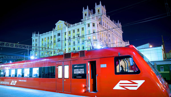 Аэроэкспресс в Шереметьево. Архивное фото